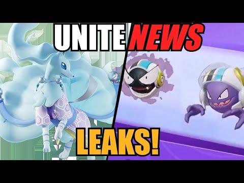 New LEAKED Trailer & Unseen Holowear from Pokemon Unite Datamine