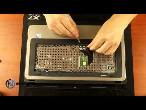 HP 630 - Disassembly and cleaning