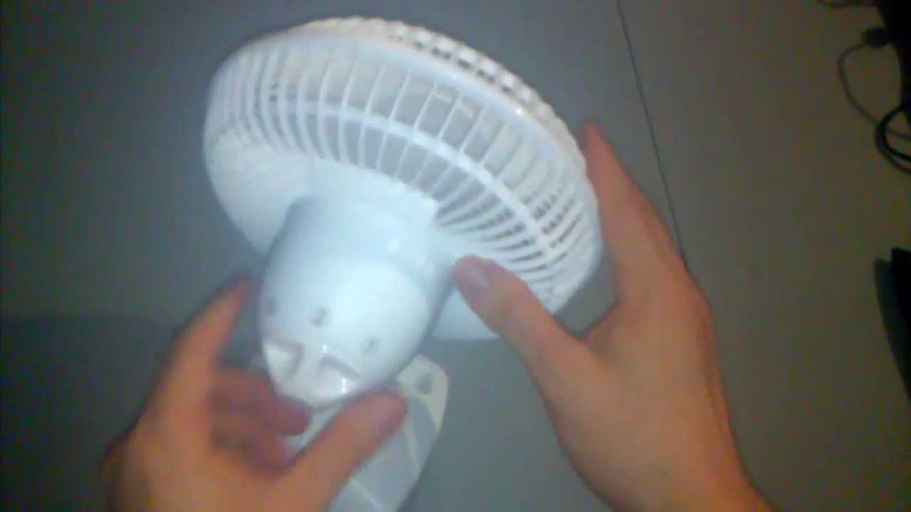 White Lasko 2002W Personal Fan 6-Inch