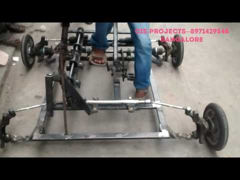 innovative mechanical projects--four wheel steering system