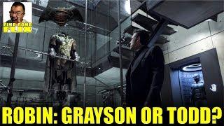 BATMAN V SUPERMAN: IS ROBIN, DICK GRAYSON OR JASON TODD?