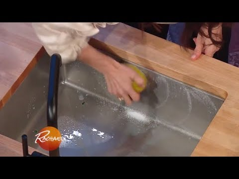 Use This Fruit to Clean a Stainless Steel Kitchen Sink | Rachael Ray Show