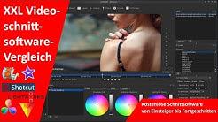 6 Kostenlose Schnittprogramme für Einsteiger - Fortgeschrittene  Videoschnittsoftware-Vergleich XXL