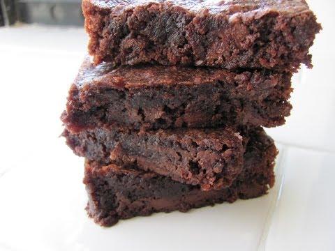 Healthy Fudge Brownie Recipe HASfit Coconut Flour Brownies Vegan Gluten Free Brownie Recipe