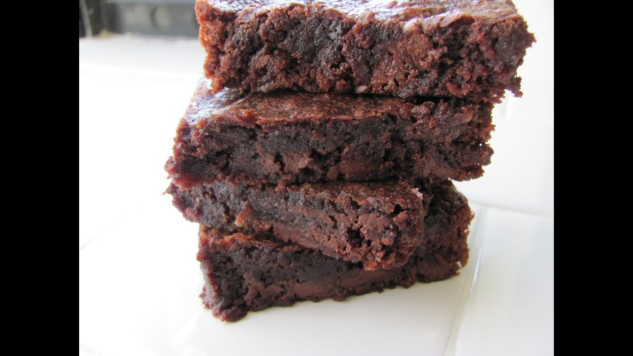 Healthy Fudge Brownie Recipe Hasfit Coconut Flour Brownies Vegan Gluten Free Brownie Recipe Youtube