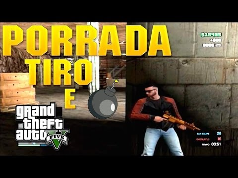 GTA V online - Mata Mata em baixo da cidade!