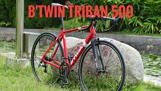Ашан байк или нормальный велик? Обзор Btwin Triban 500 из Декатлона
