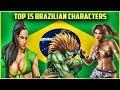 Top 15 Brazilian Fighting Game Characters