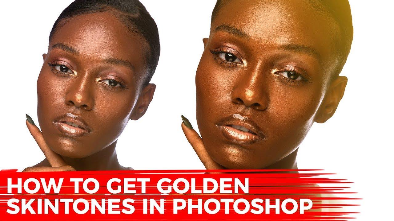 how to get golden skin