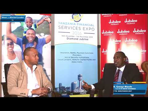 Meet the Market Leader TV Show:C.E.O Jubilee Insurance George Alande