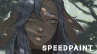 komorebi speedpaint 【Procreate】