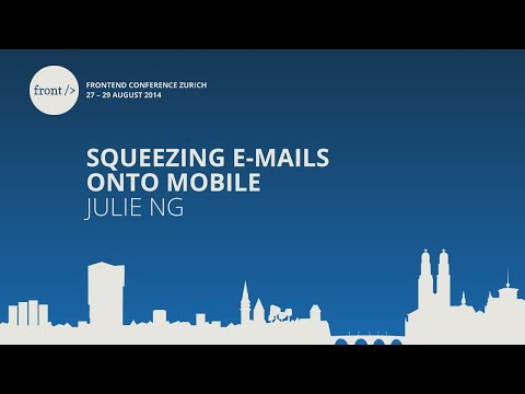 Julie Ng - Squeezing E-Mails onto Mobile