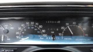 LOUD 1992 buick park avenue