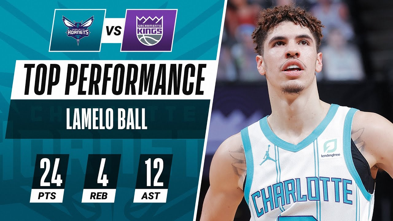 LaMelo Ball Drops 24 PTS & CAREER-HIGH 12 AST In Hornets W!