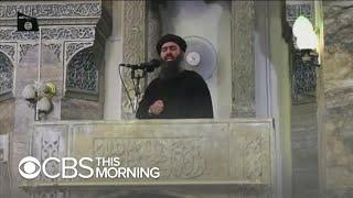 "ISIS leader Abu Bakr al-Baghdadi ""died a coward,"" Trump says"