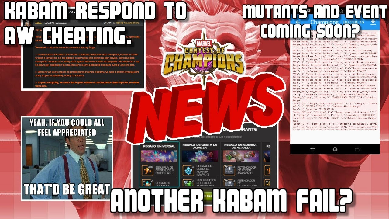 Kabam Respond To The Wars Controversy Mutant Event Appreciation