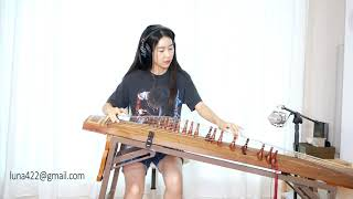 "Jimi Hendrix ""Voodoo Child"" Played on the Korean Gayageum"