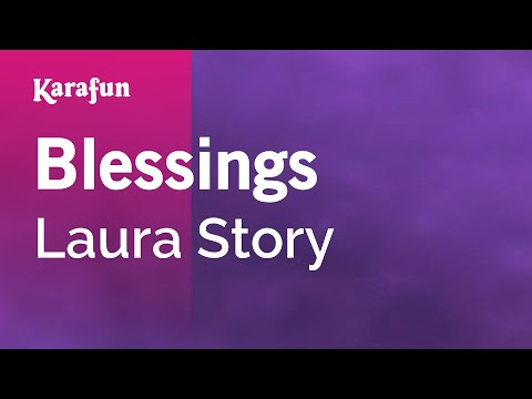 Karaoke Blessings - Laura Story *