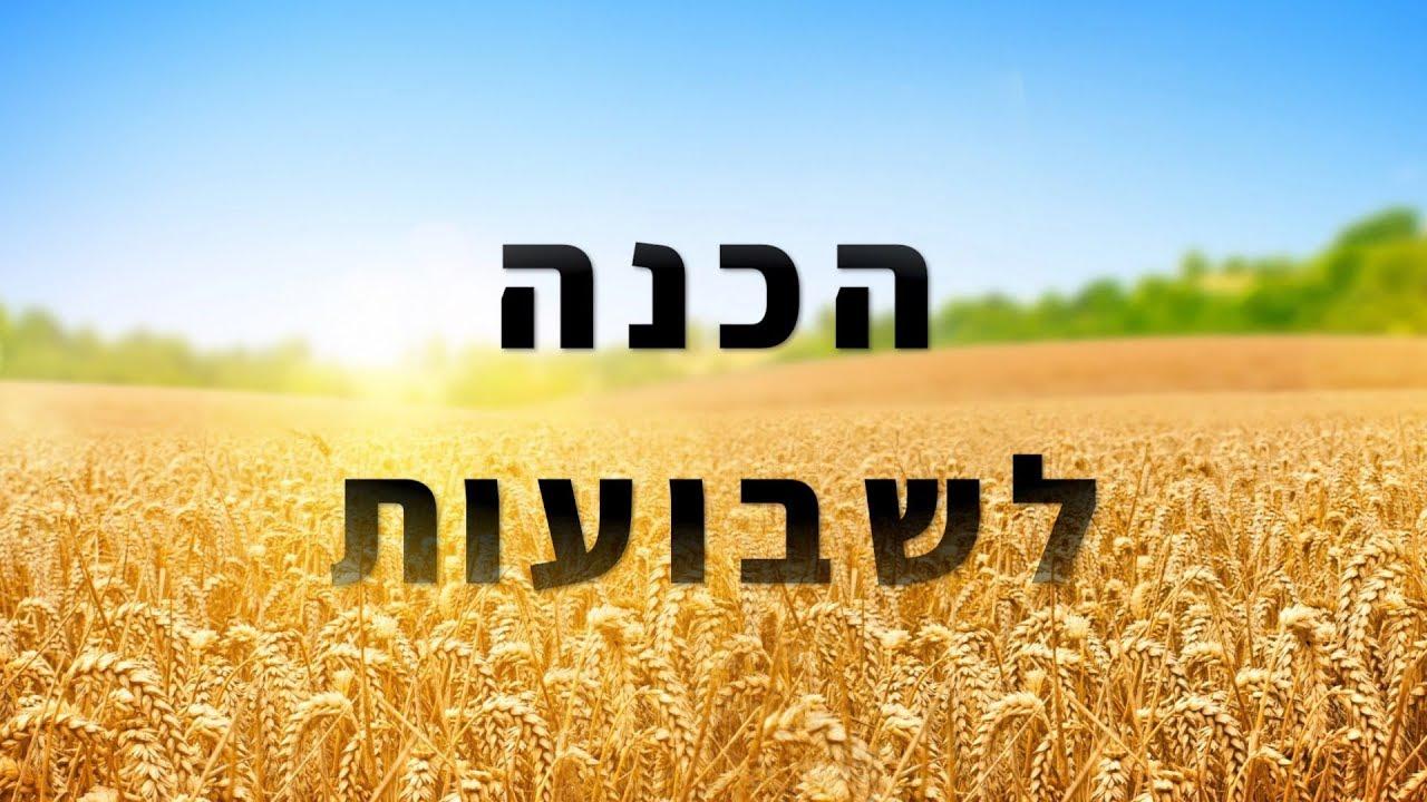 הרב ברק כהן - שיחת הכנה לשבועות (מתאים לכל השנה)
