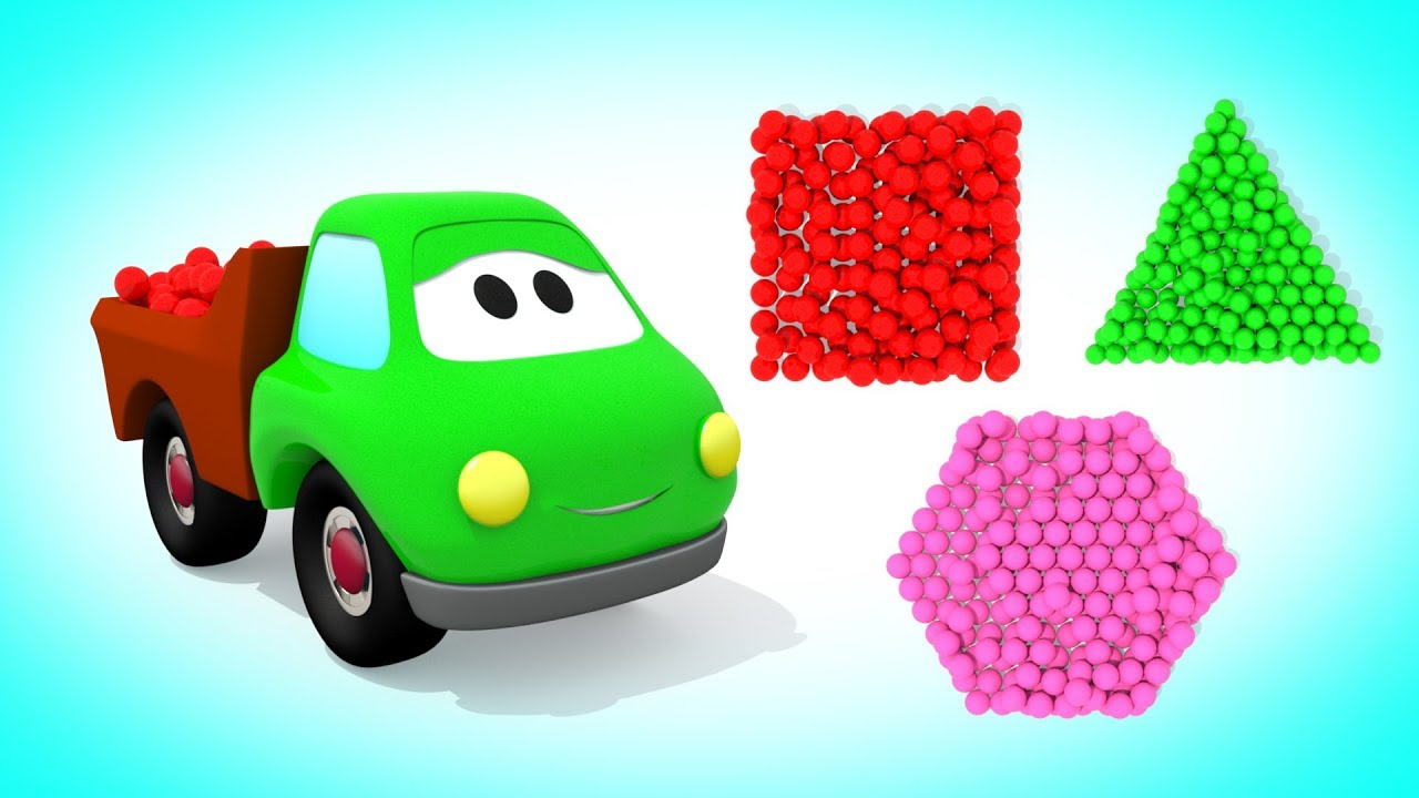 Учим цвета с шарами