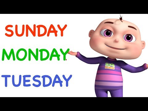 days-of-the-week-song-(single)- -learning-songs-for-kids- original videogyan-3d-rhymes- -zool-babies
