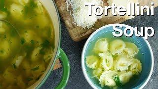 Zuppa Di Tortellini (tortellini Soup) - Le Gourmet Tv