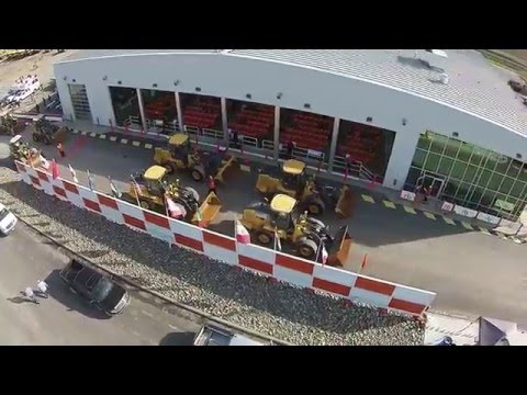 Drone Video Of Equipment Auction In Sacramento, CA - Ritchie Bros. (Mar 2016)