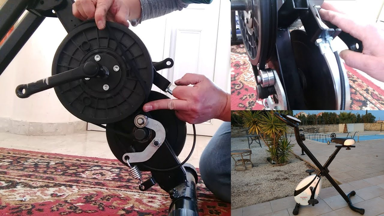 How To Fix An Exercise Bike With No Pedal Resistance Youtube