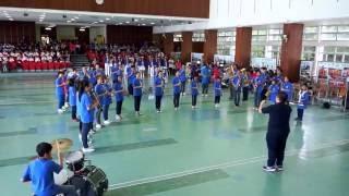福榮街官立小學步操樂團比賽2015