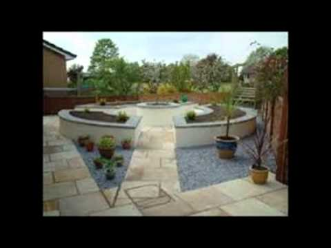 Hard landscaping ideas youtube for Hard landscaping ideas