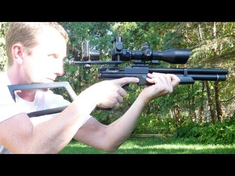 Benjamin Marauder Pcp Air Pistol 22 Youtube