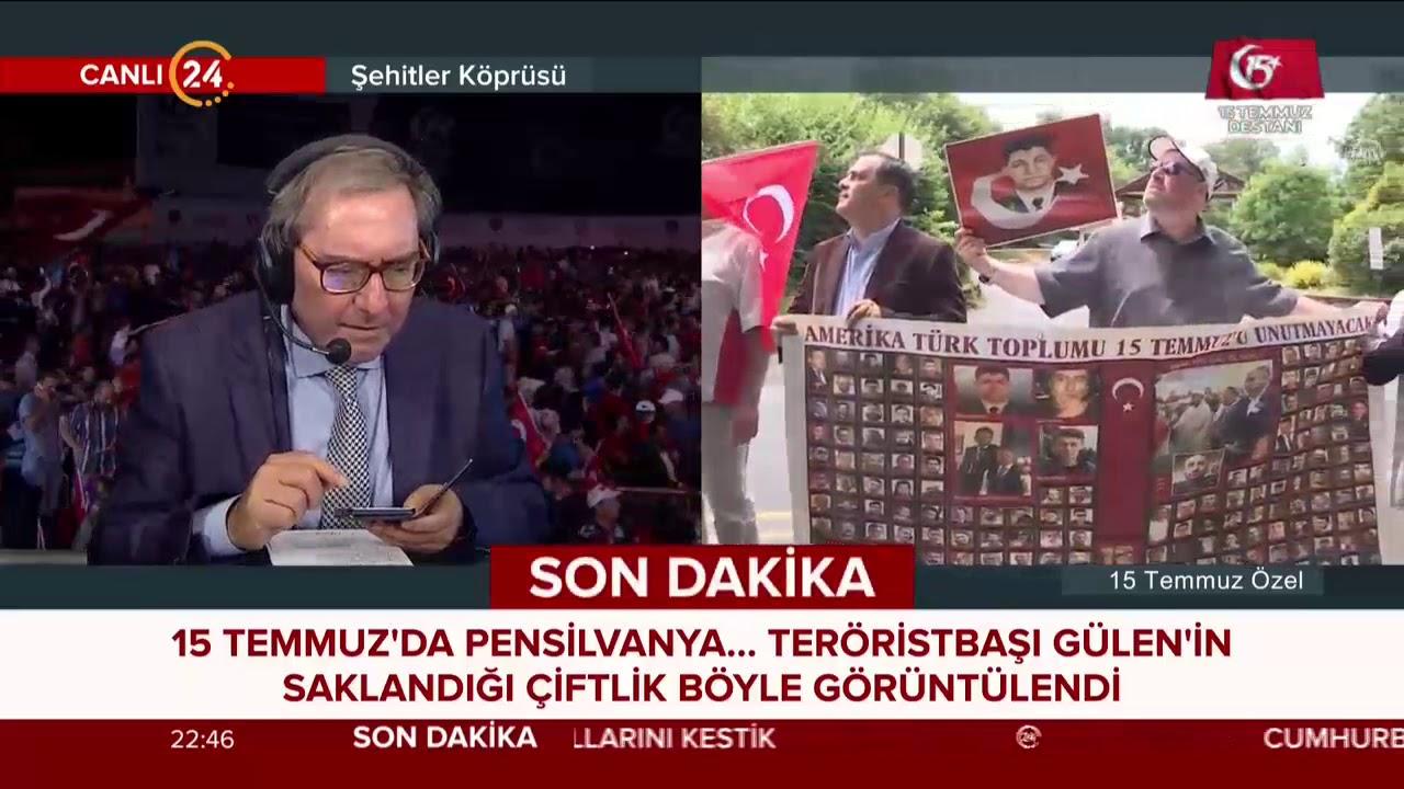Teröristbaşı Fetullah Gülen'in saklandığı çiftlik böyle görüntülendi