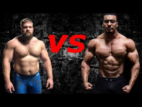 Larry Wheels Vs Kirill Sarychev !! Who Is The STRONGER ?