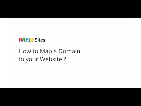 Zoho Sites: Mapping Your Domain