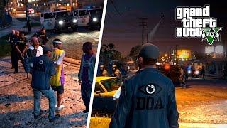 РЕЙД НА ГРУВ СТРИТ! - GTA 5 Role Play Полиция (LSPDFR)