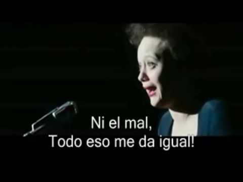 Edith Piaf - Non, Je Ne Regrette Rien subtitulado español