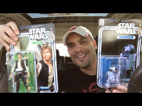 Episode 126 - TOY HUNTING Star Wars Black Series 40th Anniversary Figures!
