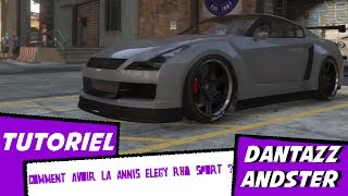 TUTORIEL - Comment avoir la Annis Elegy RH8 Sports (GTR R35) Sur GTA 5 !