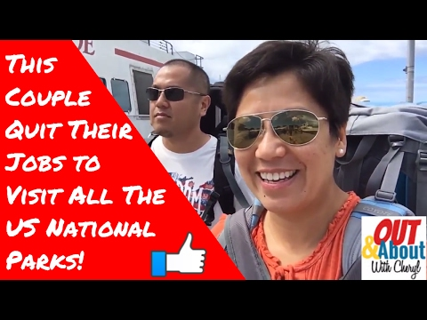 Fil-AM couple quits jobs to tour all 59 US National parks