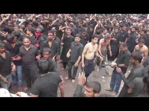 (Part3) 10th Muharram Bibi Ka Alam Procession 1439-2017-18