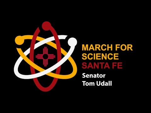 March For Science - US Senator Tom Udall