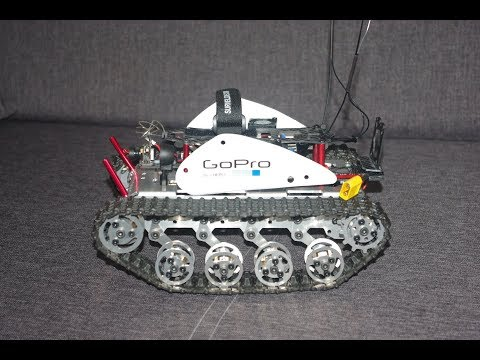 DIY T300 Metal Tracked Crawler Chassis Platform Track Tank FPV