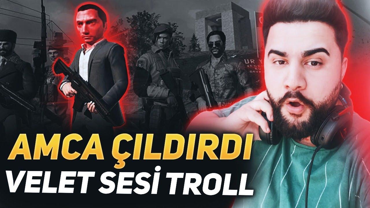 Download VELET SESİ İLE TROLLEDİM !! AMCAYI ÇILDIRTTIM !! ZULA