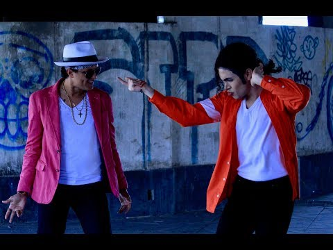Sylvia Chacon - Michael Jackson Dancing with Bruno Mars? Watch this Video!
