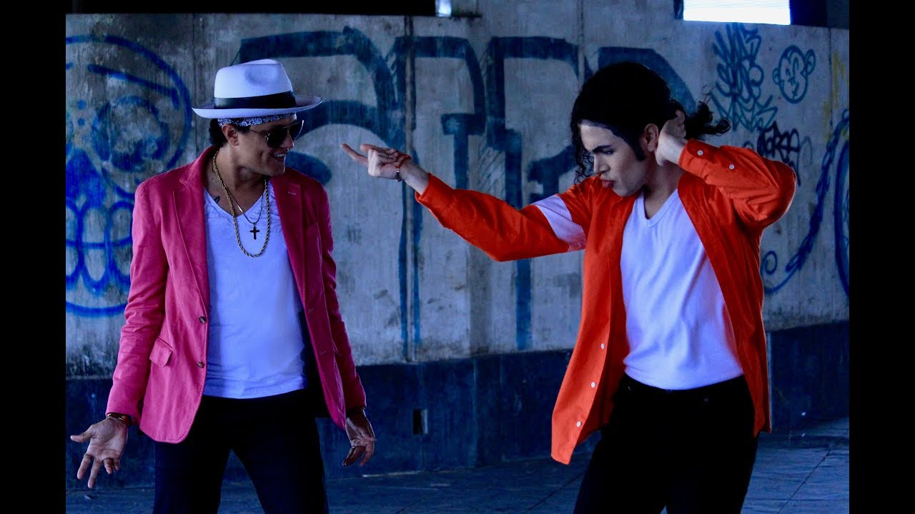 Michael Jackson Dancing With Bruno Mars? Watch this video! (Impersonators)
