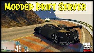 GTA 5 Online DRIFTING SERVER! Modded Cars, Custom Map & More! (FiveM Servers Explained)