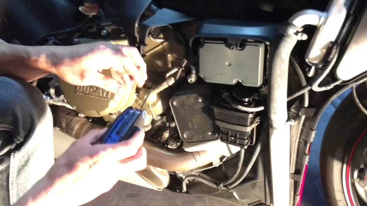 Ducati 1199 Panigale S Evap Canister Removal