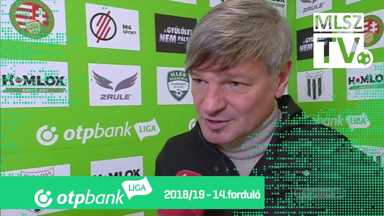 Edzői értékelések a Szombathelyi Haladás - Ferencvárosi TC mérkőzésen