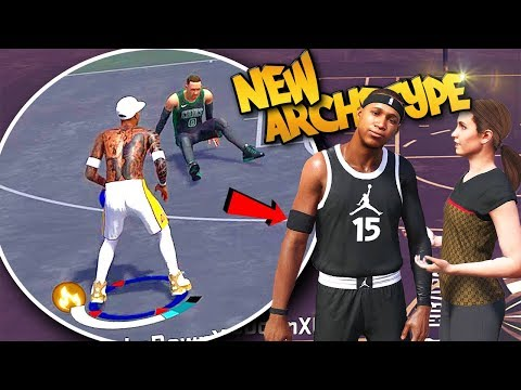NEW Archetype Sharp Shooting Playmaker  - NBA 2K18 Park & Walk On