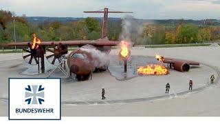 Ausbildung zwischen Feuer & Munition: Brandmeister bei der Bundeswehr
